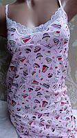 Соблазнительная ночная сорочка 48 розовый