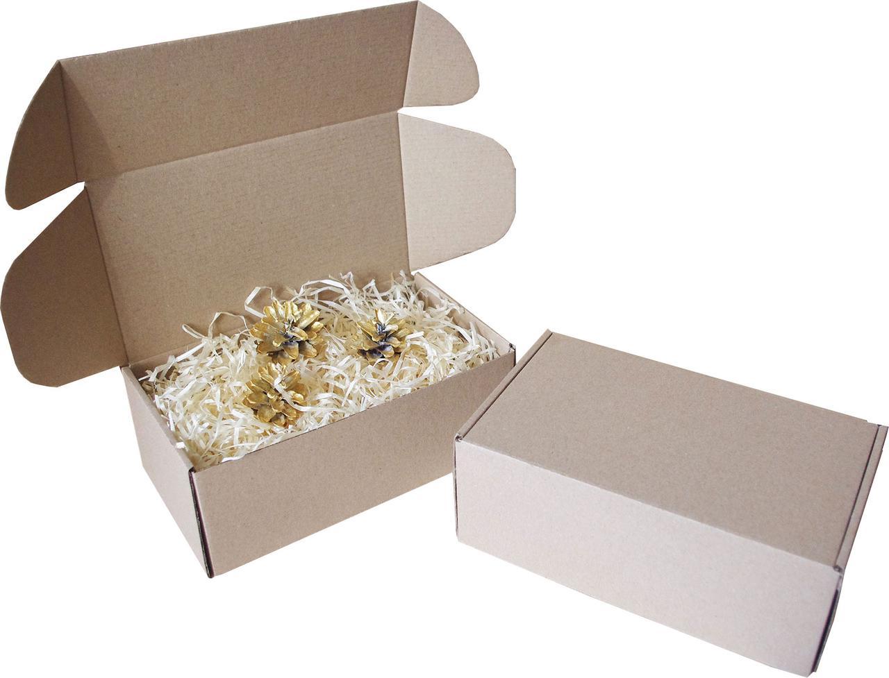 Подарочная коробочка с сеном малая, Ш210хД120хВ80мм
