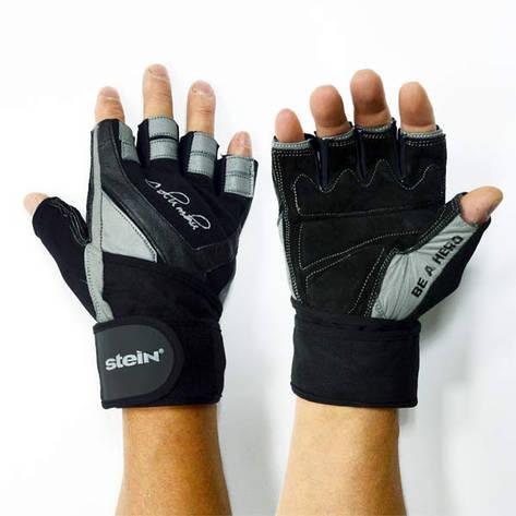 Тренировочные перчатки (XL) для фитнеса и бодибилдинга Stein Columbu GPW-2030 для дома и спортзала, Киев, фото 2