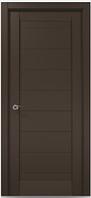 """Двери межкомнатные Папа карло """"Millenium ML-04 экошпон renolit  Дуб мокко"""