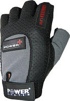 Перчатки Power System Power Plus PS-2500 Унисекс, S, Пакистан, Grey