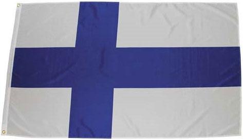 Флаг Финляндии 90х150см MFH 35103S