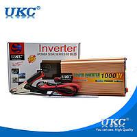 Преобразователь 24V-220V 1000W автомобильный инвертор , фото 1