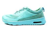 Кроссовки женские мятные Nike Air Max Thea для спорта, активного отдыха