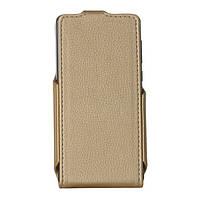 Чехол RP Flip Case Prestigio Wize PX3 3528 шкіра (шт) золотий (ФК.149.З.09.23.000)
