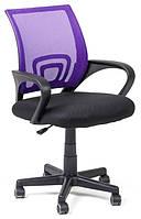 Офисный стул-кресло на колесиках фиолетового цвета Comfort violet, Львов