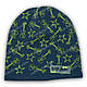 Вязаная шапка для мальчика, р. 48-50, K467, фото 4