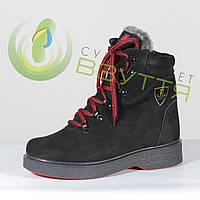 Зимние ботинки на шнурках, фото 1