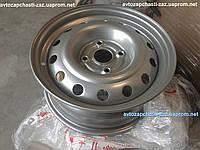 Оригинальный стальной диск ZAZ Forza цвет серебро Штампованый колесный ЗАЗ Форза a13l-3101015-01 6JX15