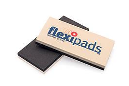 56004 125x60x14 мм Шлифовальный блок двухсторонний жесткий/мягкий - Flexipads Wet Sanding Backing Pad