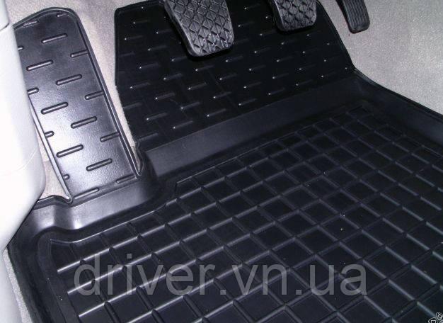 Килимки салона гумові Mercedes W221 (4matic) 2005-, кт - 4шт