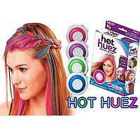 Набор цветных мелков для волос Hot Huez (Хот Хьюз)