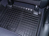 Килимки салона гумові Mercedes-Benz Vito/Viano W-639 2003 -> чорні, кт - 3шт, фото 3