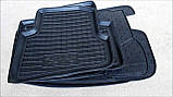 Килимки салона гумові Mercedes-Benz Vito/Viano W-639 2003 -> чорні, кт - 3шт, фото 4
