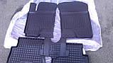Килимки салона гумові Mercedes-Benz Vito/Viano W-639 2003 -> чорні, кт - 3шт, фото 6