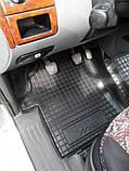 Килимки салона гумові Mercedes-Benz Vito/Viano W-639 2003 -> чорні, кт - 3шт, фото 8