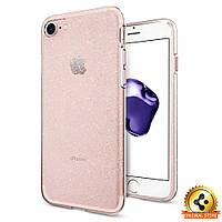 Чехол Spigen для iPhone 7 / 8 Liquid Crystal, Glitter, фото 1