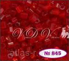 Бисер сатин Preciosa Чехия №95081 50г, красный