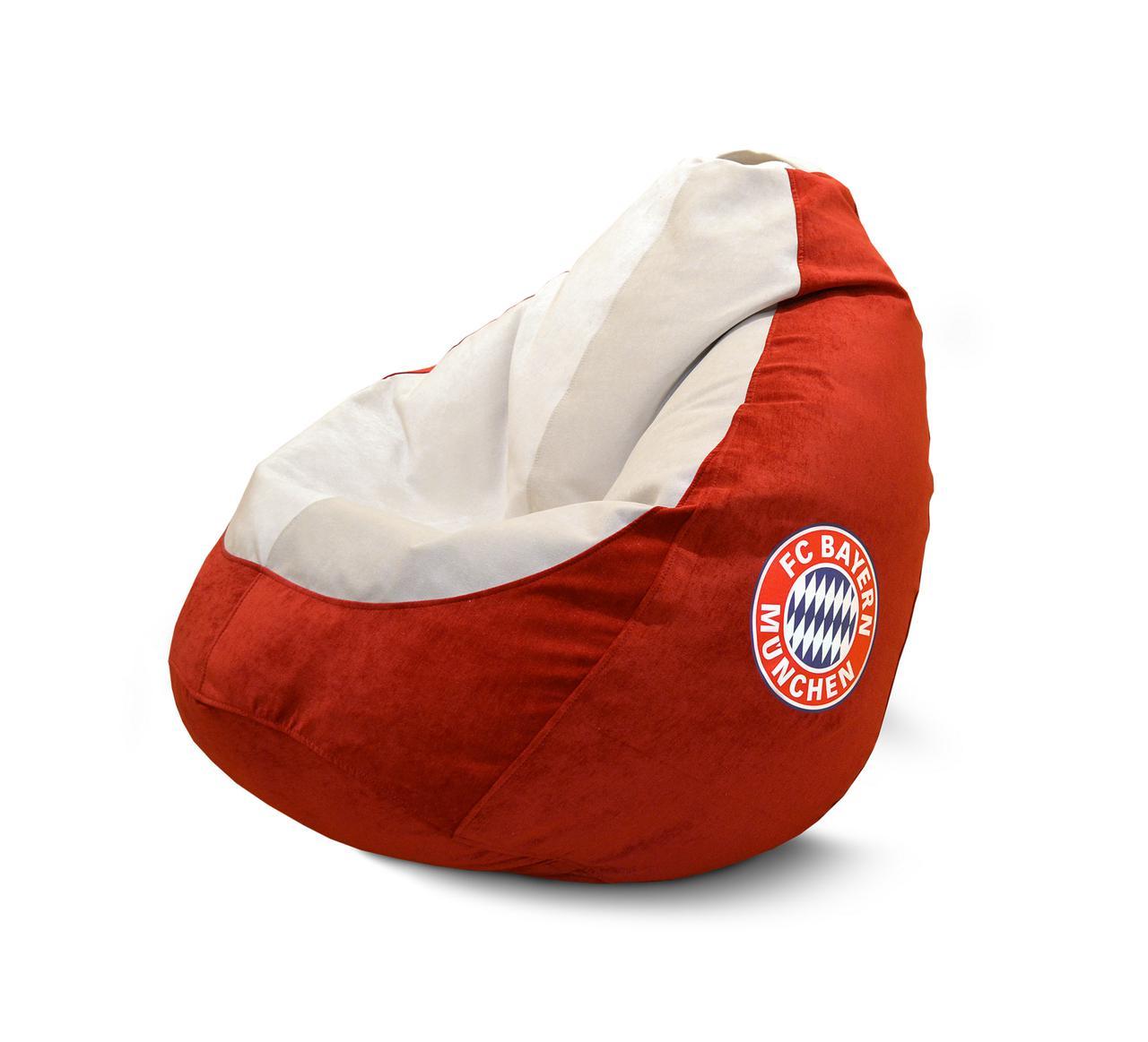 """Кресло груша """"FC Bayern München"""" Флок"""