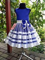 Детское нарядное выпускное платье