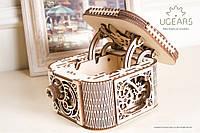 Механічний конструктор пазли «Скринька для любительок секретів», фото 1