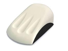 """12911 125 мм (5"""") Шлифовальный блок под форму руки - Flexipads Formed Handblock Grip"""
