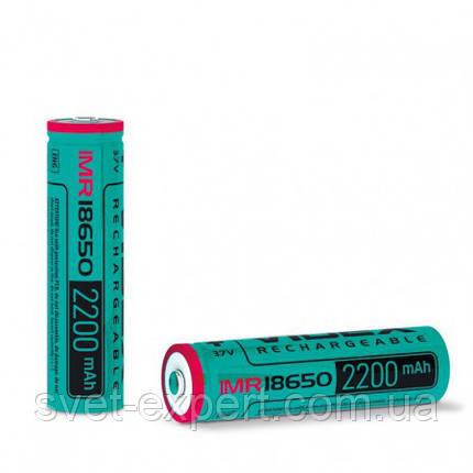 Аккумулятор Videx 18650(высокотоковый) 2200mAh bulk/1pc 50/600, фото 2