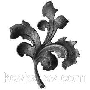 Кованые листья 155х140х4