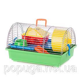 Клетка для грызунов, цинк GRIM 1 ZINC+PL InterZoo 36*34*22 см