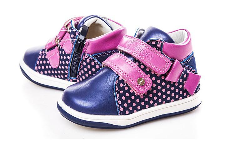 Ботинки для девочек, синие