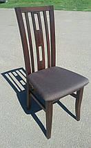 """Стул обеденный """"Валенсия"""" для гостинной (венге, орех, белый) Fusion Furniture, фото 3"""