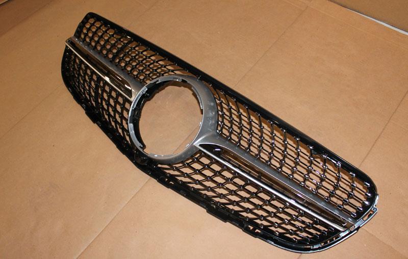 Решетка радиатора AMG Diamond Sport Mercedes GLC (X 253)