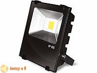 Прожектор светодиодный с радиатором EUROELECTRIC LED COB MODERN 10W 6500K