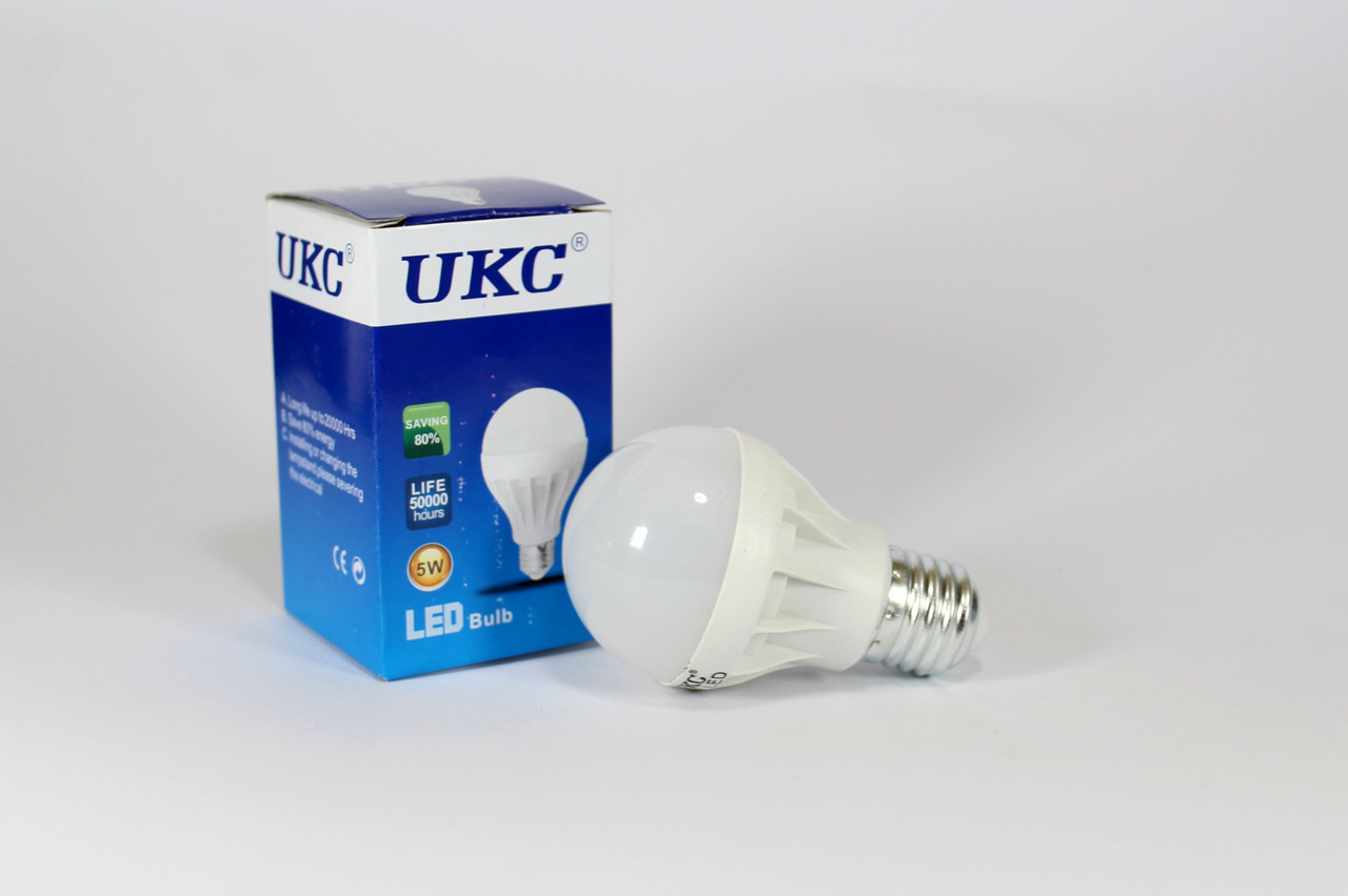 Лампочка LED LAMP E27 5W Круглые  100