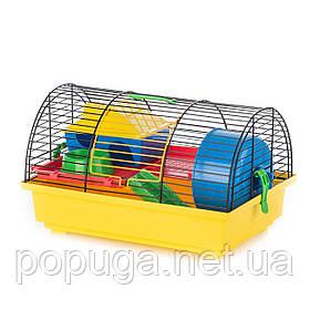 Клетка для грызунов, эмаль GRIM 1+PL InterZoo 36*34*22 см