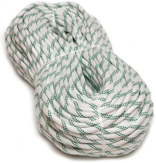 [20м] Верёвка статическая высокопрочная 10мм Sinew Soft белая