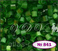 Бисер сатин Preciosa Чехия №55041 50г, зеленый