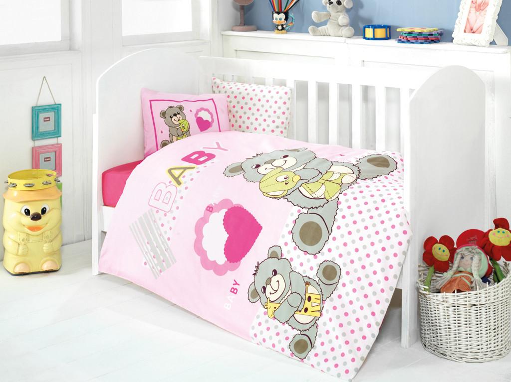 Детское постельное белье для младенцев Eponj Home - Yumos Pembe