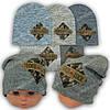 Вязаная шапка для мальчика, р. 48-50, A27
