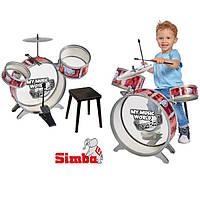 Барабанная установка со стульчиком My Music World Simba 6839858