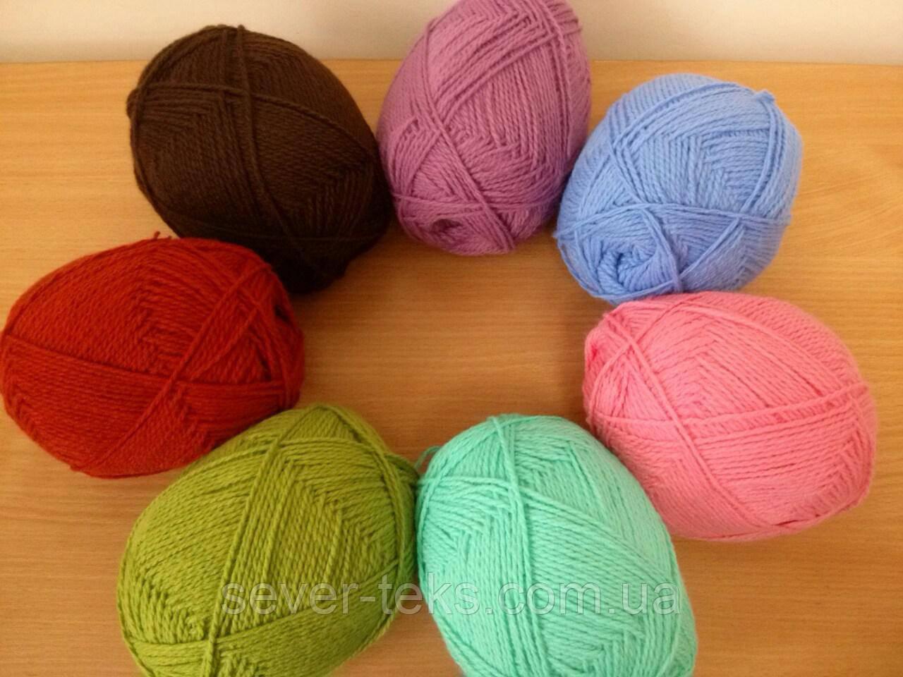 акрил объемный пряжа для ручного вязания цена 240 грнкг купить