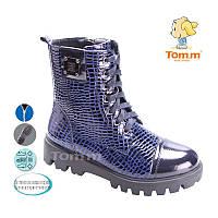 Детская осенняя коллекция 2017. Детская демисезонная обувь бренда Tom.m для девочек (рр. с 33 по 38)