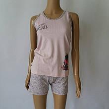 Пижама  шорты+майка