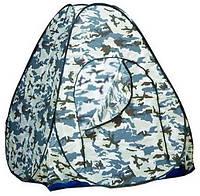 Зимняя палатка 2,4*2,4*1,65 м автоматическая с открывающимся дном.