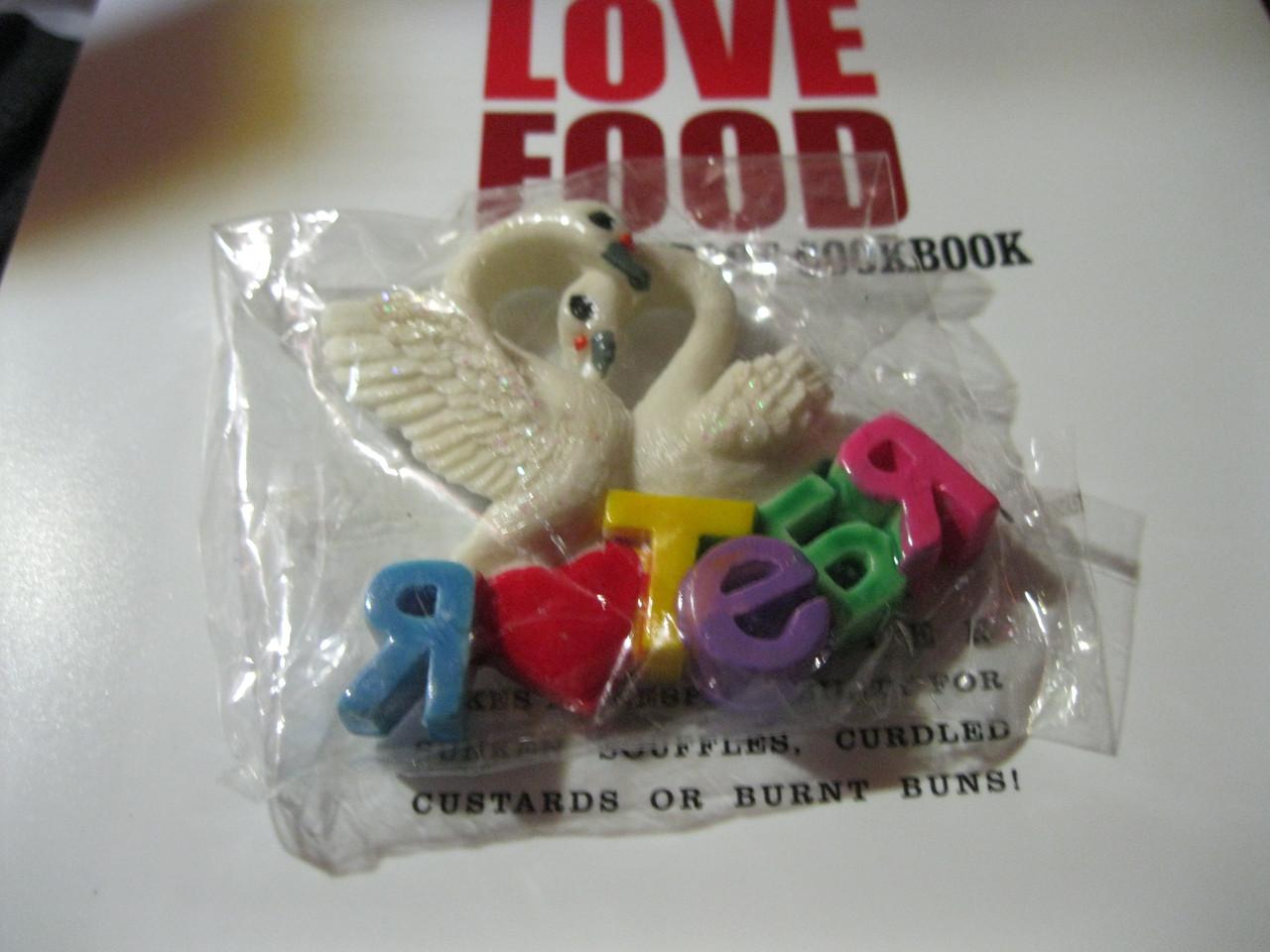 Магнит пара лебедей я тебя люблю лебеди сердце подарок ко дню СВЯТОГО ВАЛЕНТИНА сувенир