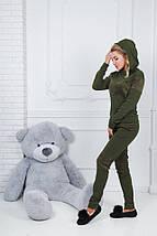 """Теплый спортивный женский костюм """"Berry"""" с капюшоном (4 цвета), фото 2"""