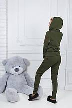 """Теплый спортивный женский костюм """"Berry"""" с капюшоном (4 цвета), фото 3"""
