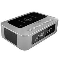 Bluetooth колонка Promate TimeBase-1 Silver