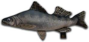 Антистрессовая игрушка 3K Fish Судак малый 54х25см