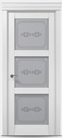 "Двери межкомнатные Папа карло ""Millenium ML-07""  бевелс экошпон renolit"